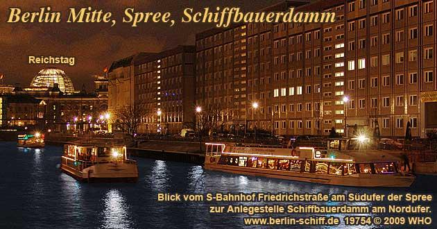 Weihnachtsfeier Berlin Mitte.Berlin Mitte Weihnachtsfeiern Schiffsfahrt Moltkebrücke Abfahrt