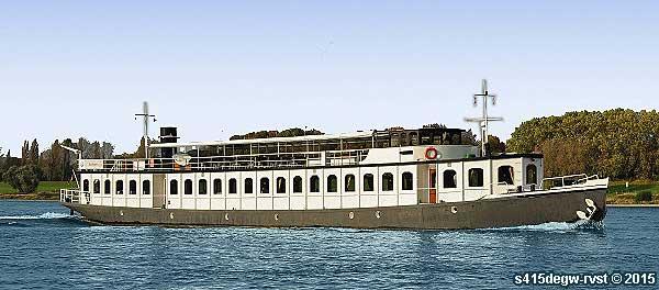 Dusseldorf Rhein Charter Rheinschiff Niederrhein Nordrhein