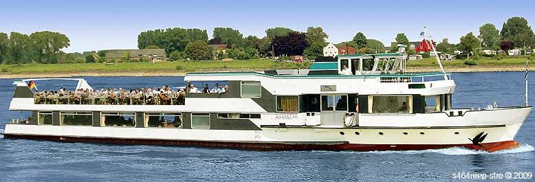 Schiff Mieten Emmerich Kalkar Grieth Rees Xanten Wesel Niederrhein