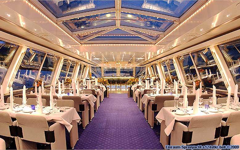 Luxus Einraum Spreeyacht Schiff Mieten Berlin Landwehrkanal