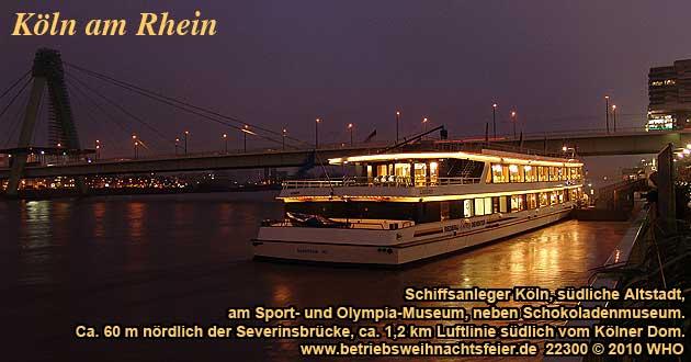 Weihnachtsfeier 2019 Ideen.Betriebsweihnachtsfeier Köln Weihnachtsfeier Düsseldorf Rhein Schiff